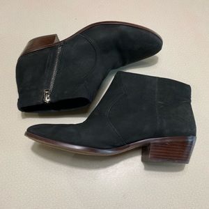 Sam Edelman Nubuck Ankle Boots